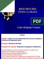 Resumen Del Texto La Raza