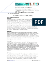 Reading Task 1-Breast Cancer and the Elderly