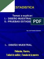 CLASE 5 Clase Bioestadistica Ing. Huaman