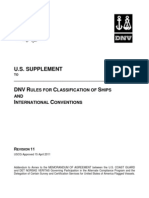 DNV RULES FOR CLASSIFICATION OF SHIPS