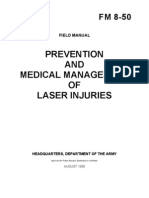 fm 8-50 prevention and medical management of laser injuries