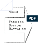 fm 63-20 forward support batallion