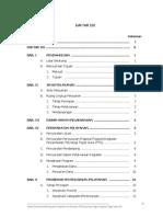 Daftar Isi SPP TTG 2013