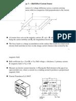 PEexp05 Hall Sensor