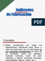 Presentacion de Prorrateos de Costos Indirectos