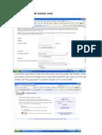 Esperiencia Sobre Google Docs