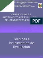 téccnicas e Instrumentos de Evaluación (1)