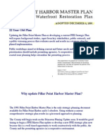 Pillar Point Harbor 1991 Master Plan Presentation (why the plan is outdate)