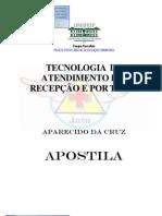 Tecnica de Atendimento Recepção e Portaria - UNIFESP