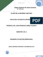 Antologia de Estadistica.