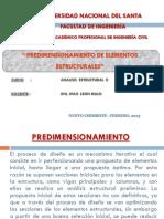 10.-Predimensionamiento de Elementos Estructurales