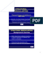 Structural Irregularities Powerpoint
