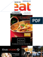 Where to Eat Phuket March - April 2013
