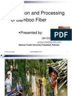 Production and Processing of Bamboo Fibre