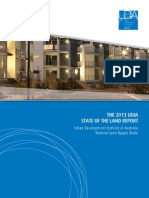 UDIA State of the Land Report 2013