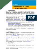 Xray Equipment guidelines