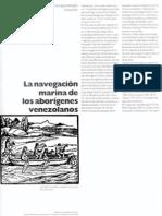 La Navegación Marina de Los Aborígenes Venezolanos
