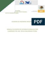Manual de Apuntes de Sistemas de Manufactura
