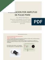 Modulacion Por Amplitud de Pulso Pwm