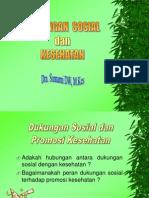 Dukungan Sosial Dan Kesehatan