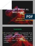Infarto Agudo Al Miocarido Para Histo