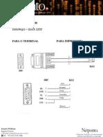 Manual Técnico - Cabo R232 - Dataregis Quick 3202