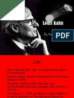 Louis Kahn by Kassie Eulberg