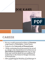 Louis Isador Kahn -Ppt PDF Seminar Presentation Download Www.archibooks.co.Cc