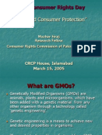 GMOs ConsumerProtection