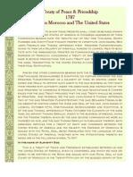 Treaty of Peace & Friendship