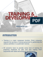 Training n Development