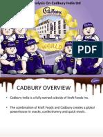 Cost Analysis on Cadbury India Ltd