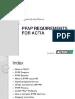 Ppap Training PDF