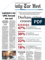 The Daily Tar Heel for March 5, 2013