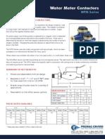 Walchem WFM Water Meter Brochure