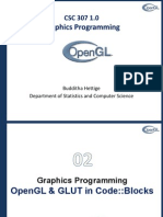 OpenGl and Code::Blocks