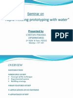 Rapid Freezing Prototyping With Water(4PS09MCM02)