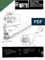 ASV EM - Seahorse Pedestal Crane (API-2C) Crane Chart