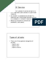 DoS Attacks Types