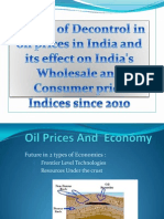 Impact of Decontrol in Oil Prices in India New Latsttttt