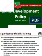 PTI Vocational Tech Policy