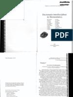 Aa.vv Diccionario de Hermeneutica