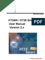 Onity/TESA HT24W / HT28 Smart User Manual Version 2.x