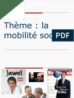diaporama theme la mobilité sociale 2008-2009