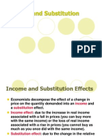 Income & Subsitution Effect