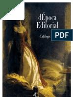 Catálogo dÉpoca Editorial
