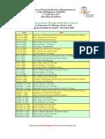 2009 IVT ANSAP Refresher Courses