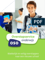 Overstapservice Onderwijs Flyer