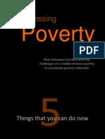 Addresing Poverty