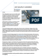 Animal Deterrents and Security in Substation